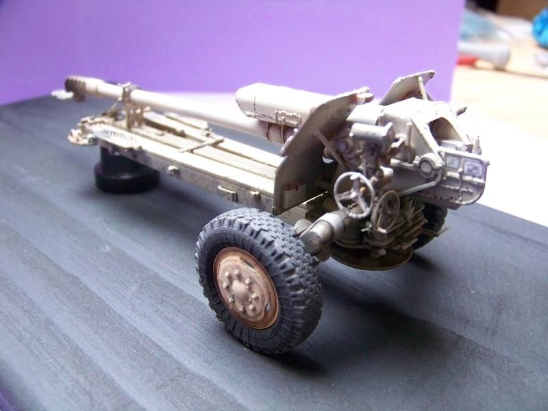 Howitzer D30 de 122mm au 1/35 de Trumpeter et Ural 4320 de zvezda 100_4317