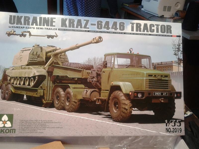 Kraz 6446 tracteur de Takom 1/35 Img_2178