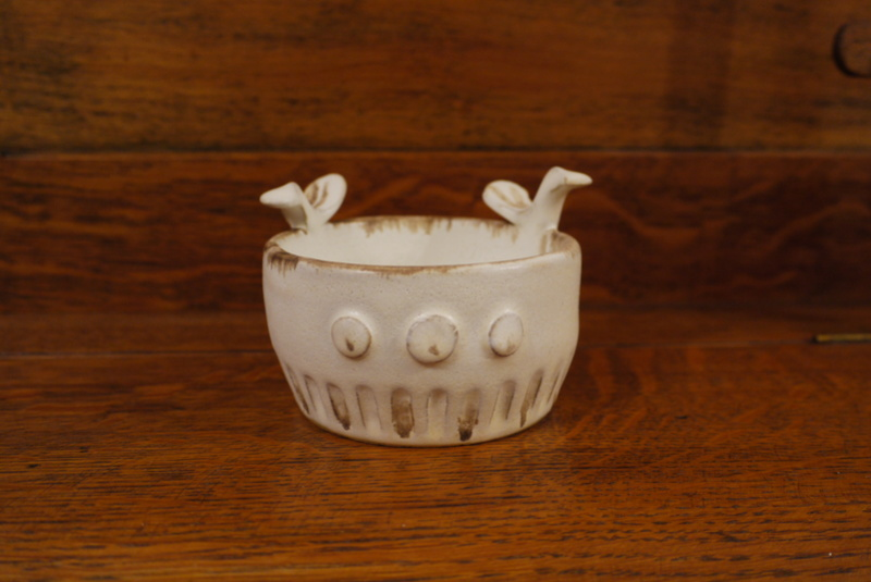 Small Stoneware Bowl with Birds P1020114