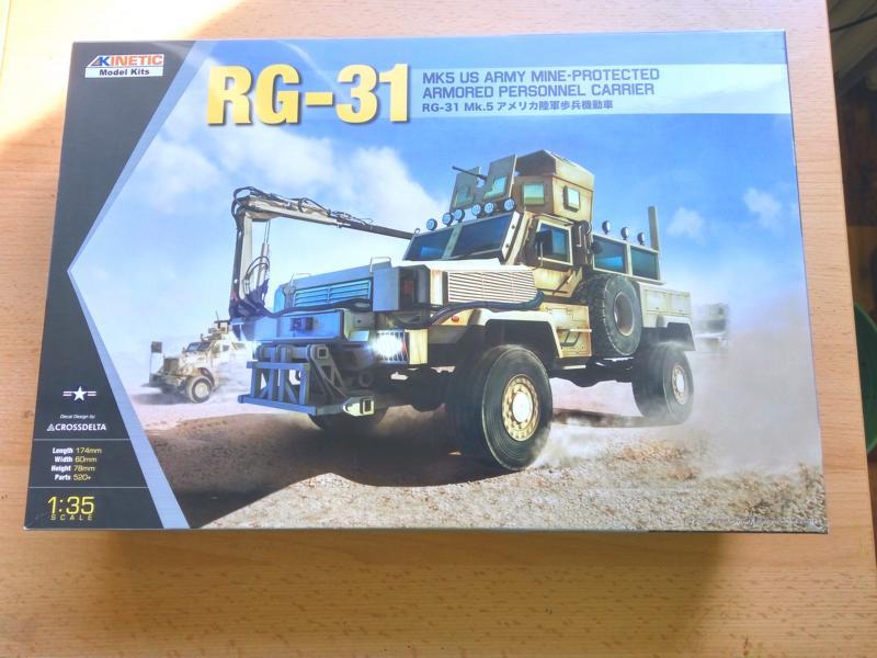 Kinetic Model RG-31 MK5 1/35 114