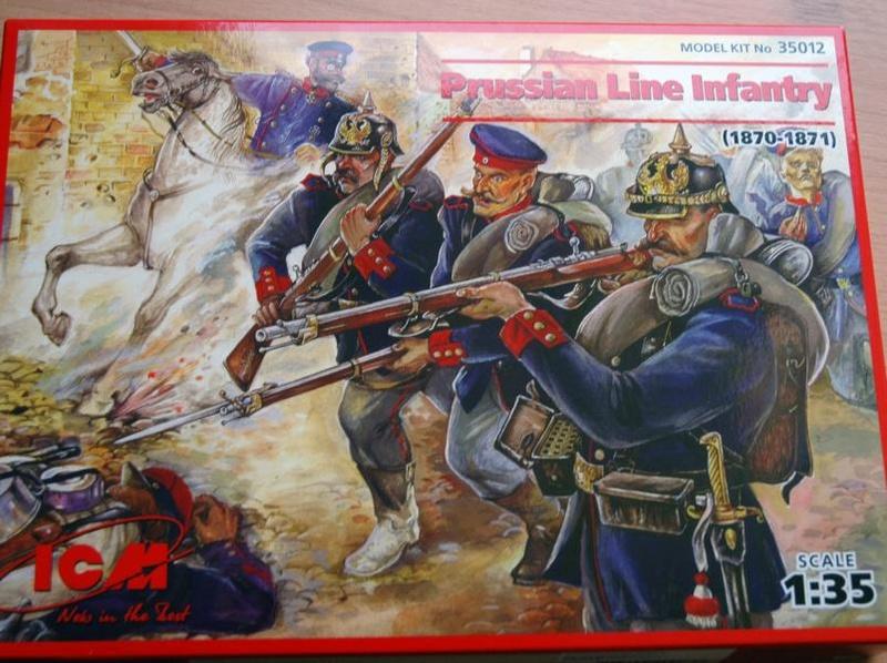 Preussische Linieninfanterie 1870/71, ICM 1/35  P110