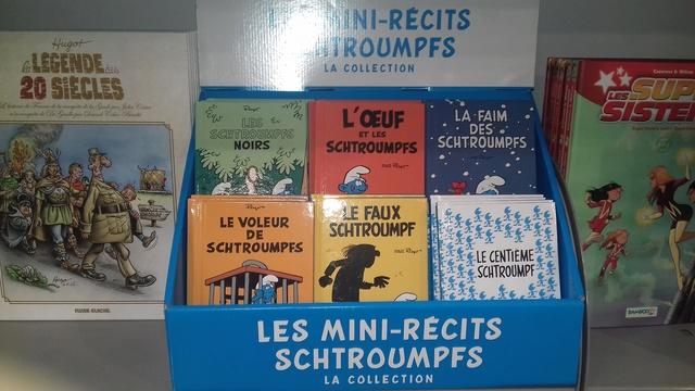 Collection de 6 mini-récit schtroumpfs 20180510