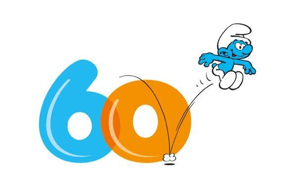 60 ans des petits bonhommes bleus 60_log10