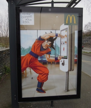Campagne d'affichage McDonald's / LL Dragon10