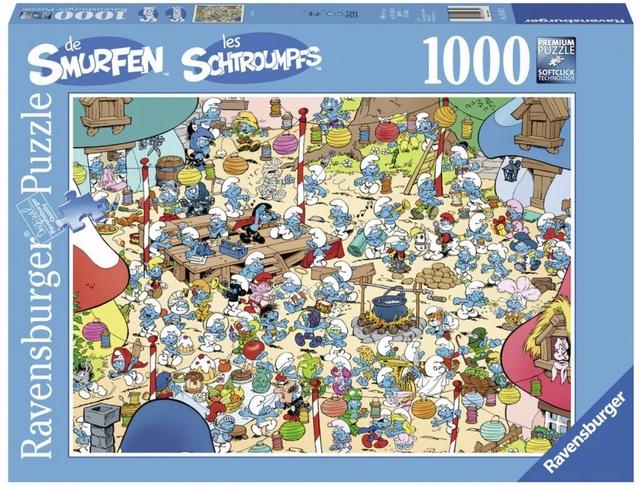 Puzzle Schtroumpf Image10