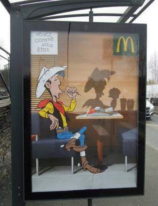 Campagne d'affichage McDonald's / LL Ll10