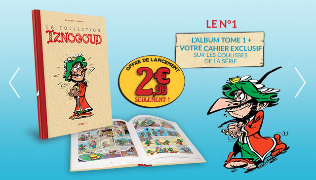 Collection Iznogoud Hachette  Slide110