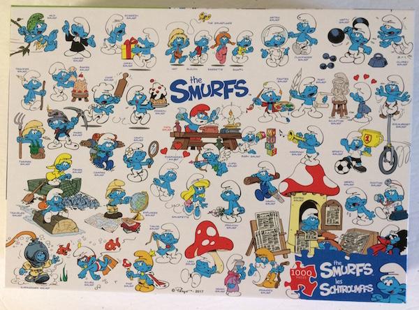 Puzzle Schtroumpf Smurfs10