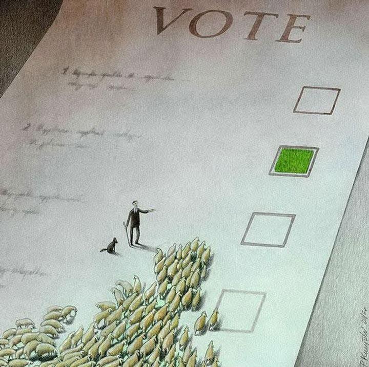 Pour ceux qui pensent encore que la France serait une démocratie...  Notre-10