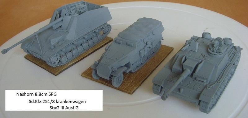 Armorfast Half-Track to sdkfz 251/8 krankenwagen Snv36613