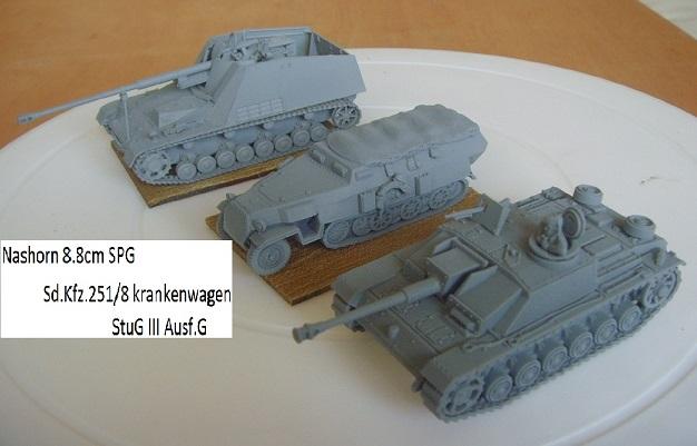 Armorfast Half-Track to sdkfz 251/8 krankenwagen Snv36614