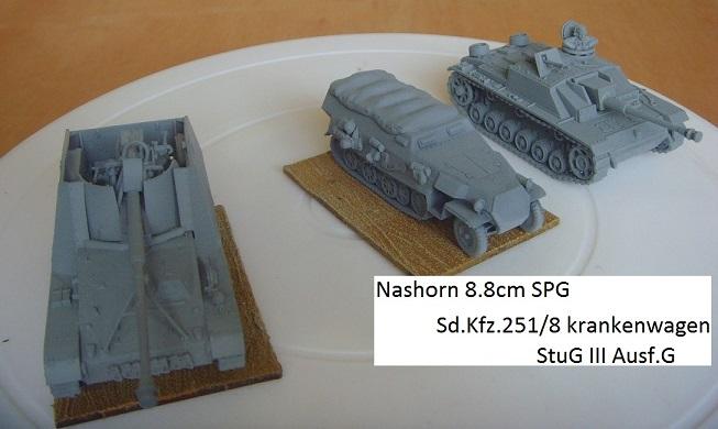 Armorfast Half-Track to sdkfz 251/8 krankenwagen Snv36615