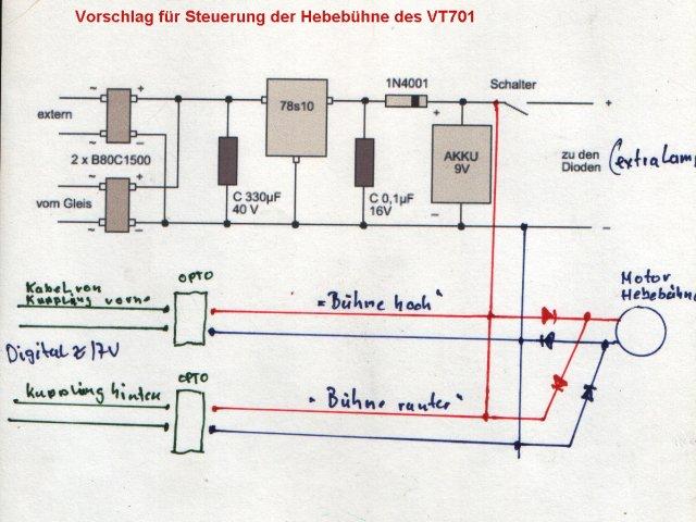 Frage: Lenz - Digitalsteuerung VT701 Änderung? Ladu310