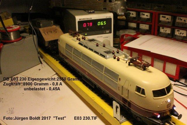 Test von Spur 0 Fahrzeugen  Test0310