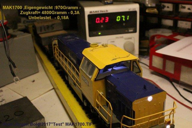 Test von Spur 0 Fahrzeugen  Test1710