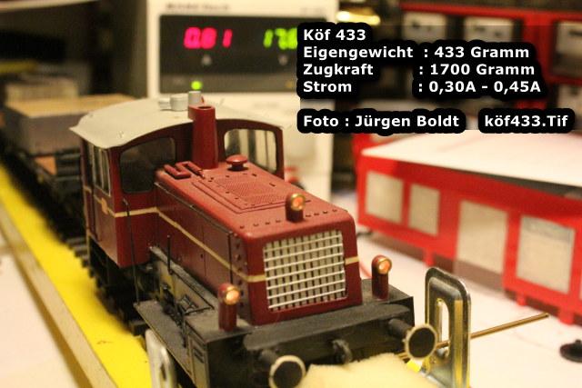 Test von Spur 0 Fahrzeugen  Test6f12