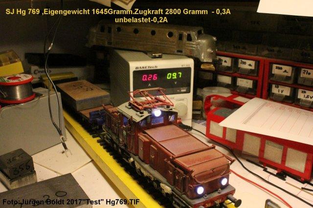 Test von Spur 0 Fahrzeugen  Test7613