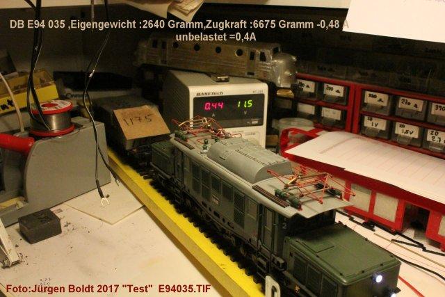 Test von Spur 0 Fahrzeugen  Test9410