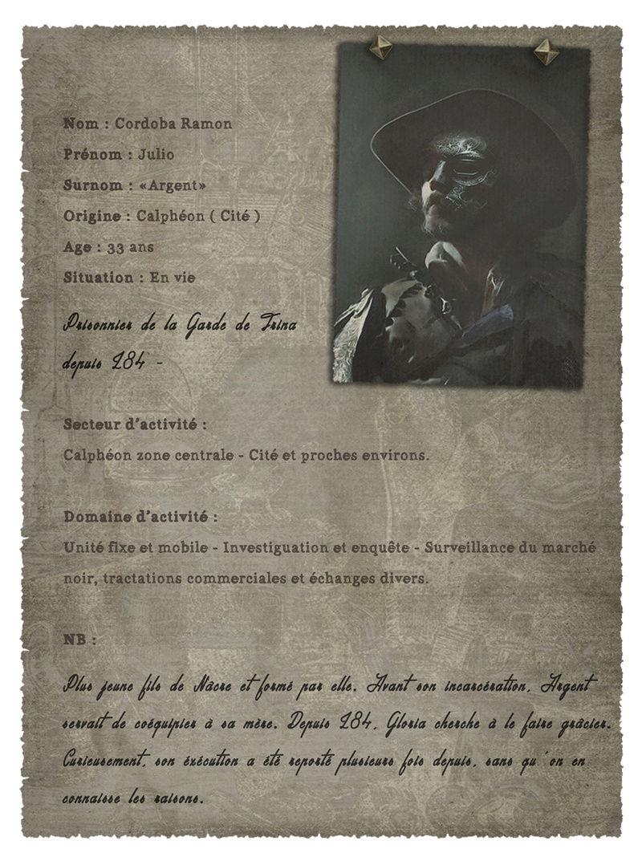[En vie/Indisponible] Julio Cordoba Ràmon Argent10