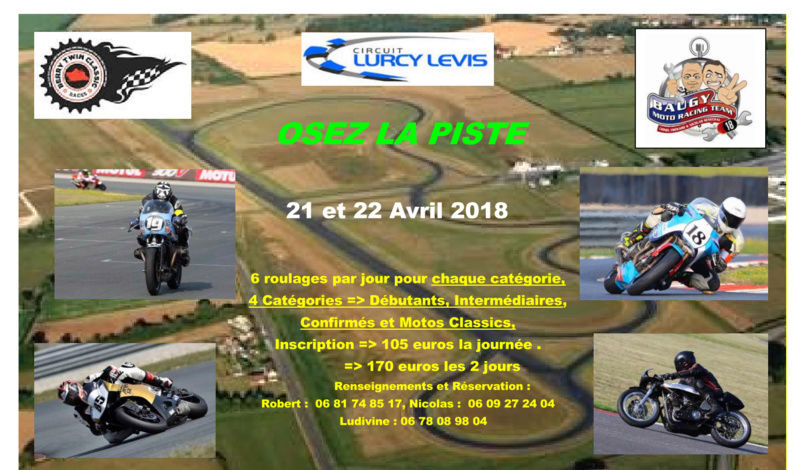 Roulage piste Lurcy Lévis 21 et 22 Avril 2018 Photo_10