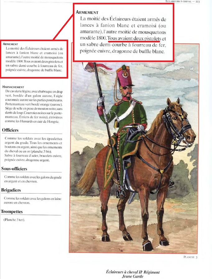 ECLAIREUR-DRAGON - CAMPAGNE DE FRANCE - 1814 Charmy10