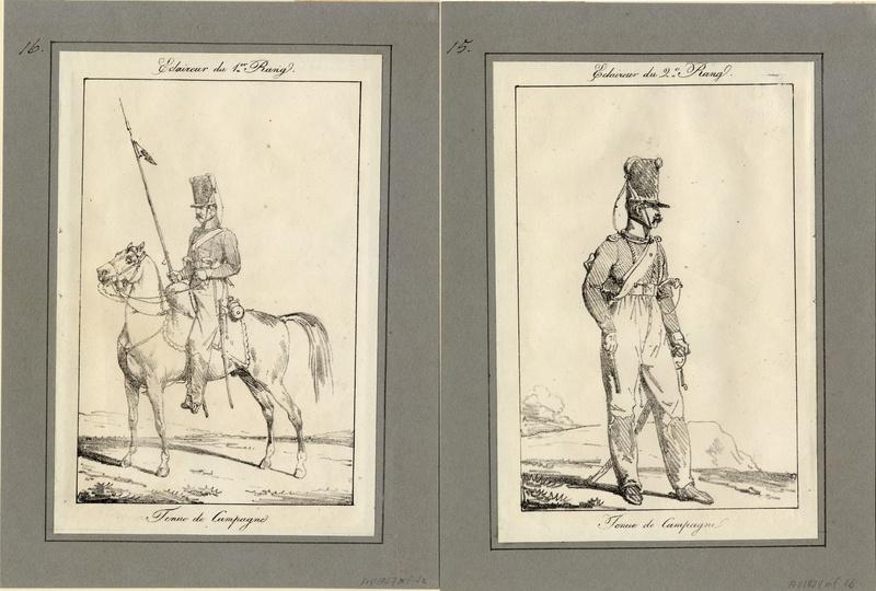 ECLAIREUR-DRAGON - CAMPAGNE DE FRANCE - 1814 Sans_t12