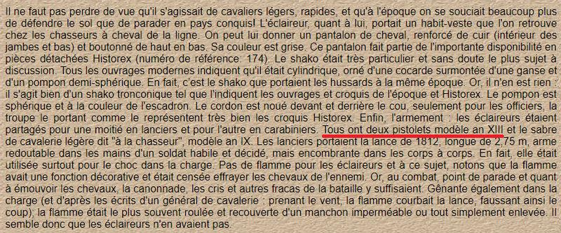 ECLAIREUR-DRAGON - CAMPAGNE DE FRANCE - 1814 Sans_t15