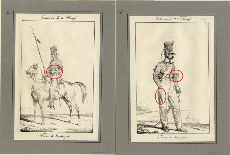 ECLAIREUR-DRAGON - CAMPAGNE DE FRANCE - 1814 Sans_t16