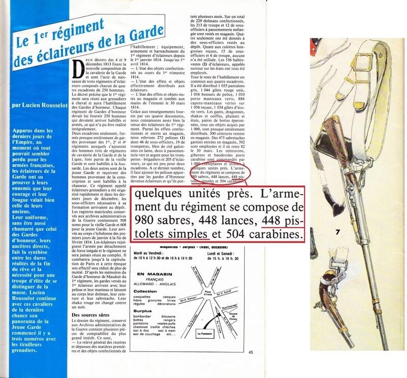 ECLAIREUR-DRAGON - CAMPAGNE DE FRANCE - 1814 - Page 2 Unifor10