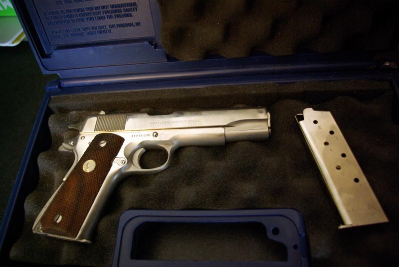 [VENDS] Colt 45 Government Série 70 - nickelé Imgp1316