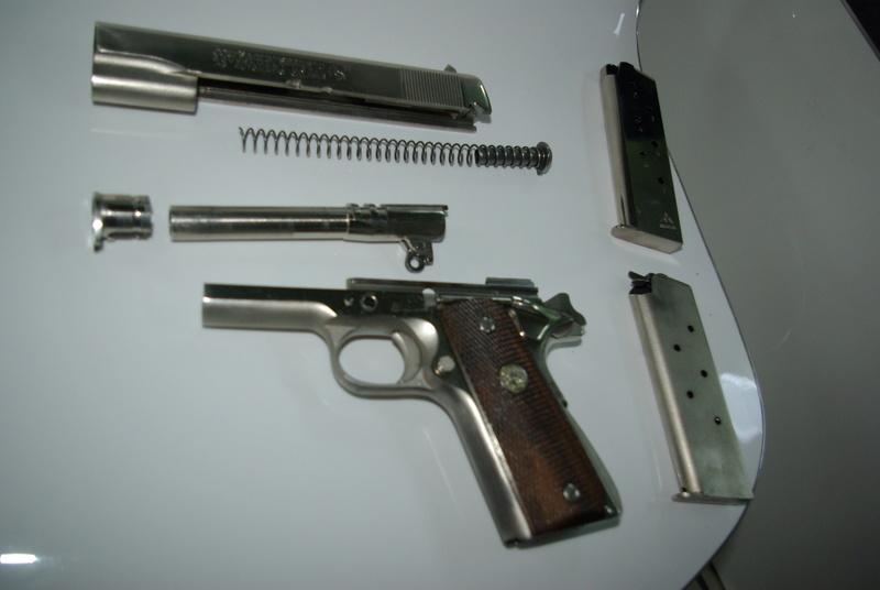 [VENDS] Colt 45 Government Série 70 - nickelé Imgp1426
