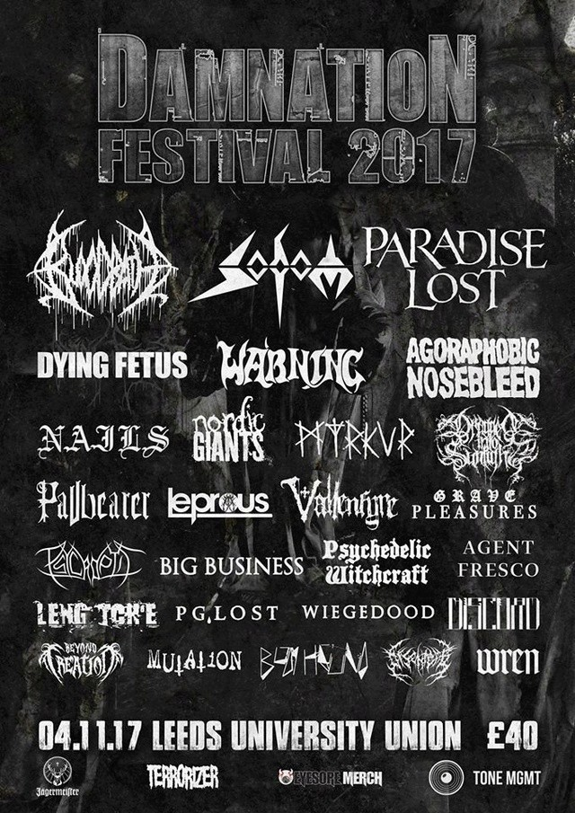 Damnation Festival - Leeds (UK) November 04 - 2017 Fly10