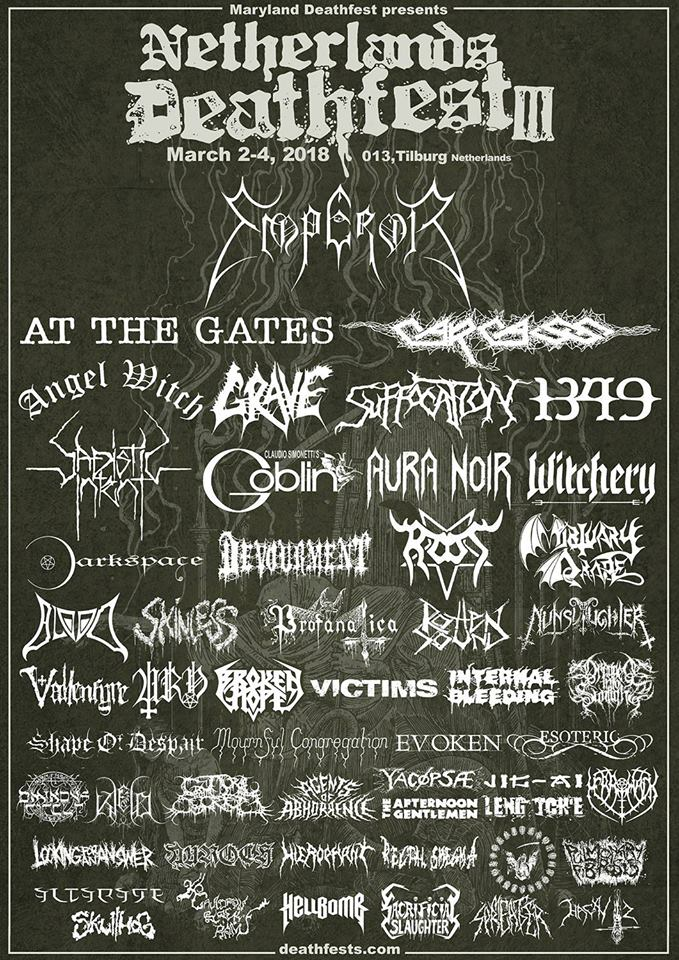Netherlands Deathfest - Tilburg (Holland) March 03 - 2018 Cancelled   Nether10