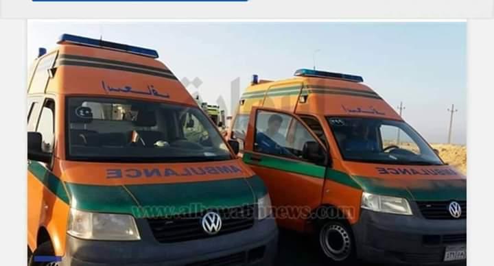 مصرع وإصابة ١٥ فى حادث تصادم سيارتين بالودى الجديد .    كتبت/سلوى وحيد Fb_img16