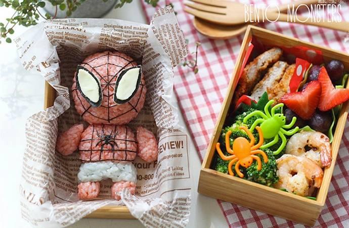 On ne joue pas avec la nourriture!!! quoique!!!   Spider10