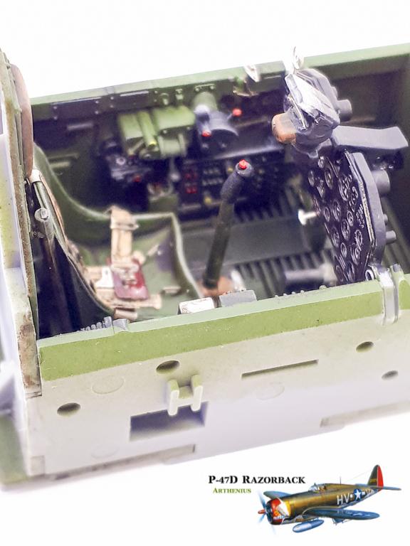 P-47D Razorback - Tamiya 1/48eme + PE Eduard 2018-221