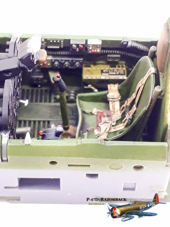 P-47D Razorback - Tamiya 1/48eme + PE Eduard 2018-224