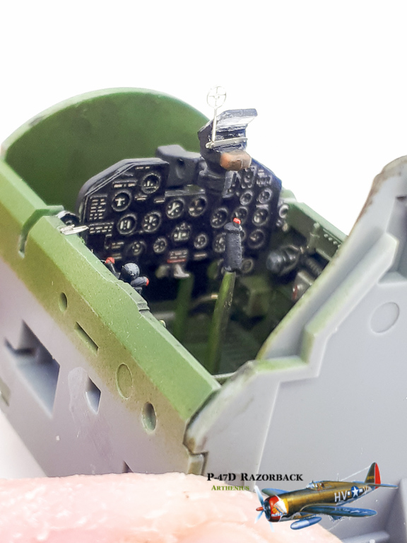 P-47D Razorback - Tamiya 1/48eme + PE Eduard 2018-226