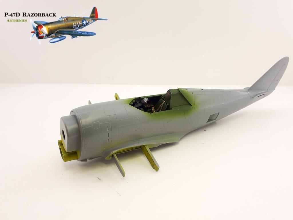 P-47D Razorback - Tamiya 1/48eme + PE Eduard 2018-228