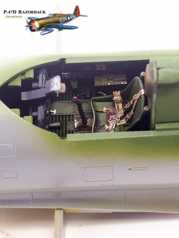 P-47D Razorback - Tamiya 1/48eme + PE Eduard 2018-229