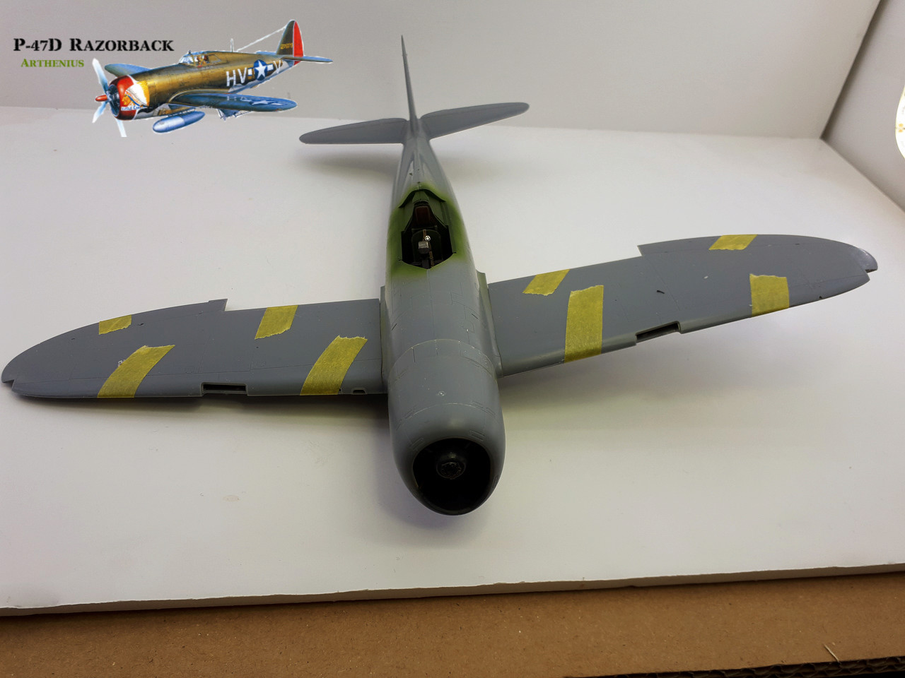 P-47D Razorback - Tamiya 1/48eme + PE Eduard 2018-237