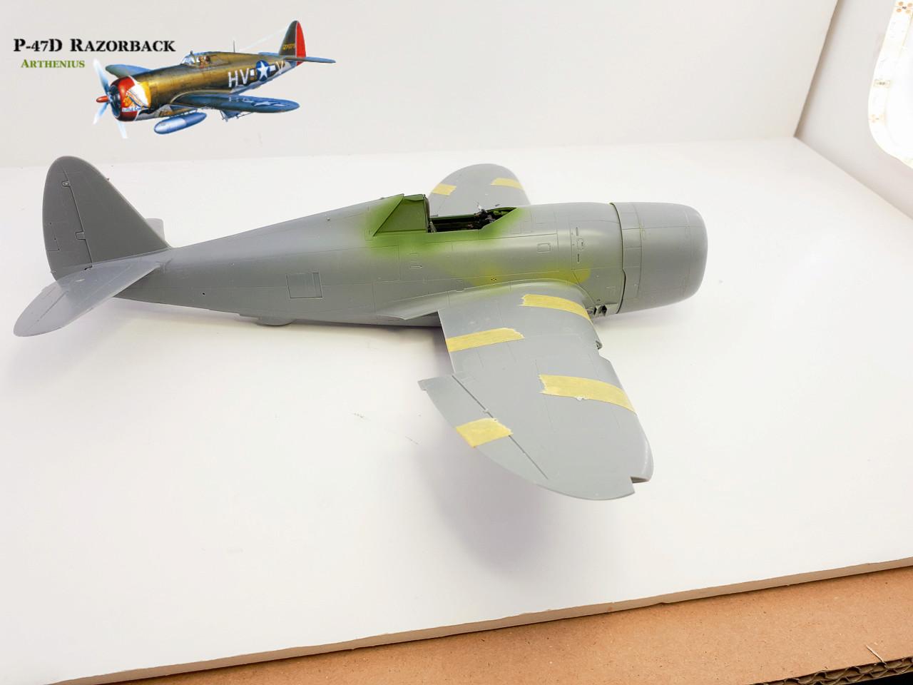 P-47D Razorback - Tamiya 1/48eme + PE Eduard 2018-238