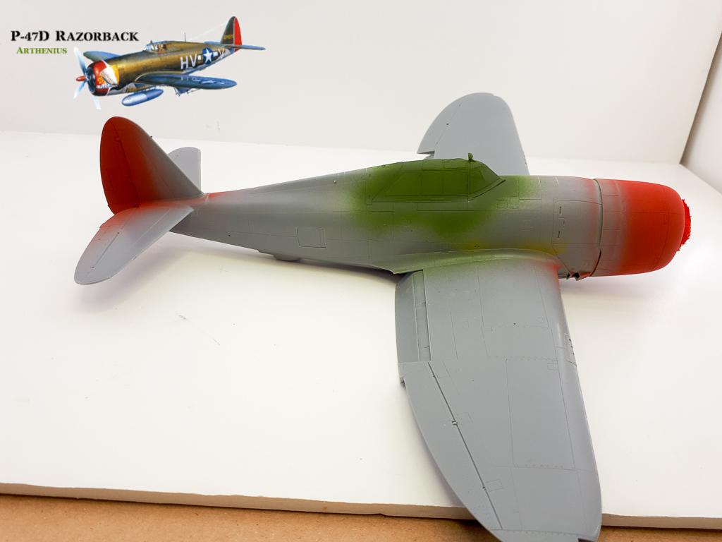 P-47D Razorback - Tamiya 1/48eme + PE Eduard - Page 2 2018-256