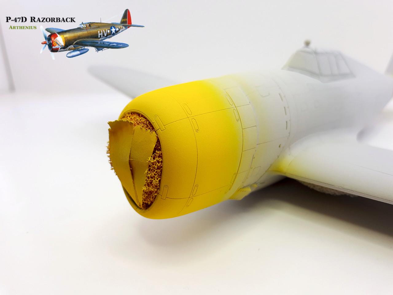 P-47D Razorback - Tamiya 1/48eme + PE Eduard - Page 2 2018-259