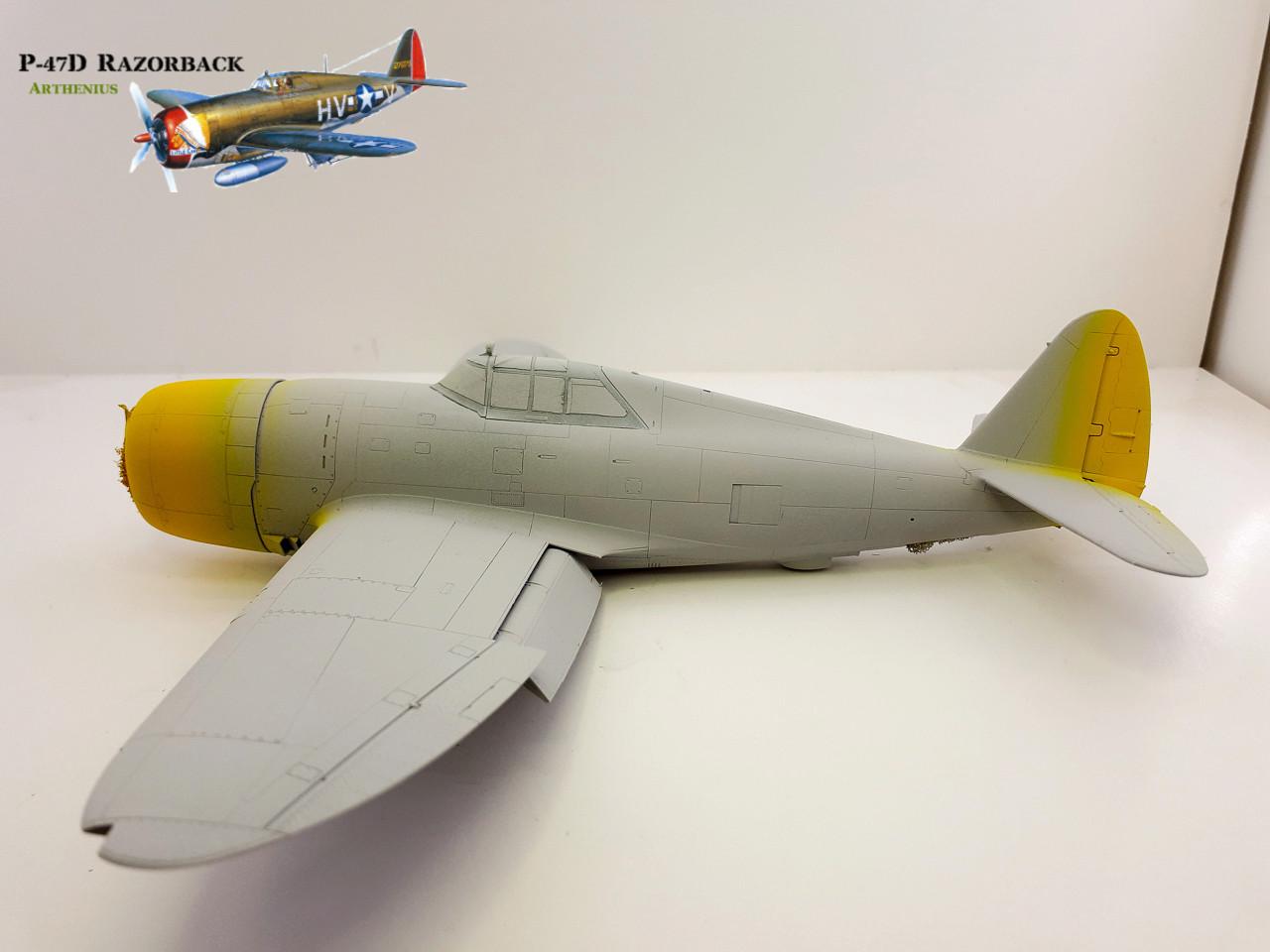 P-47D Razorback - Tamiya 1/48eme + PE Eduard - Page 2 2018-260