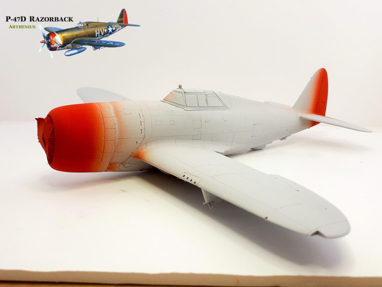 P-47D Razorback - Tamiya 1/48eme + PE Eduard - Page 2 2018-261