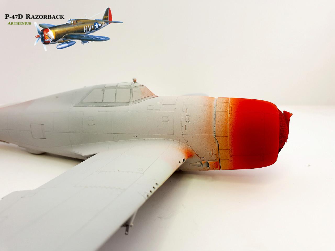 P-47D Razorback - Tamiya 1/48eme + PE Eduard - Page 2 2018-263