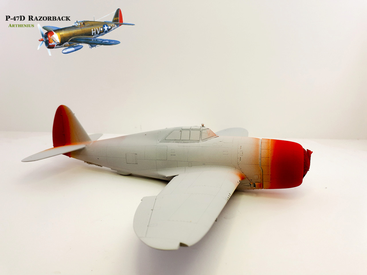 P-47D Razorback - Tamiya 1/48eme + PE Eduard - Page 2 2018-264