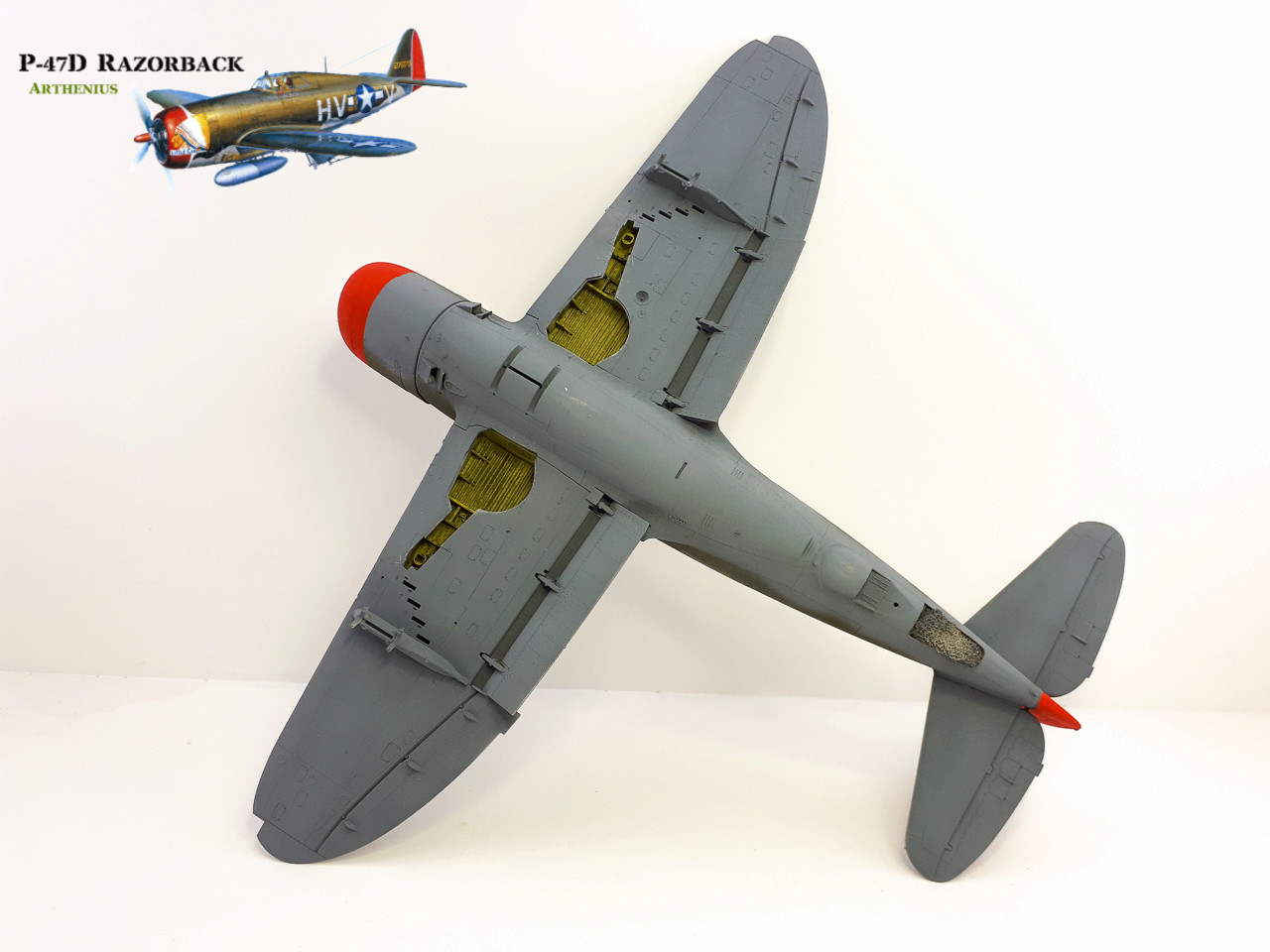 P-47D Razorback - Tamiya 1/48eme + PE Eduard - Page 3 2018-266