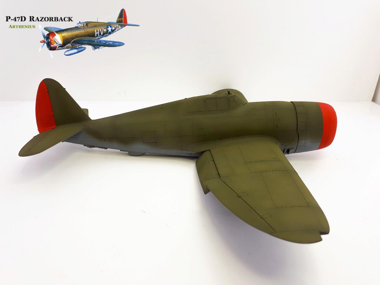P-47D Razorback - Tamiya 1/48eme + PE Eduard - Page 3 2018-267